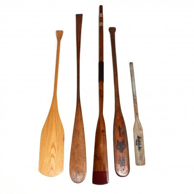 five-vintage-oars