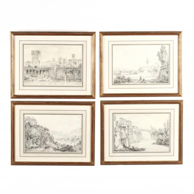 constant-bourgeois-du-castelet-french-italian-1767-1841-suite-of-four-views-of-italian-towns