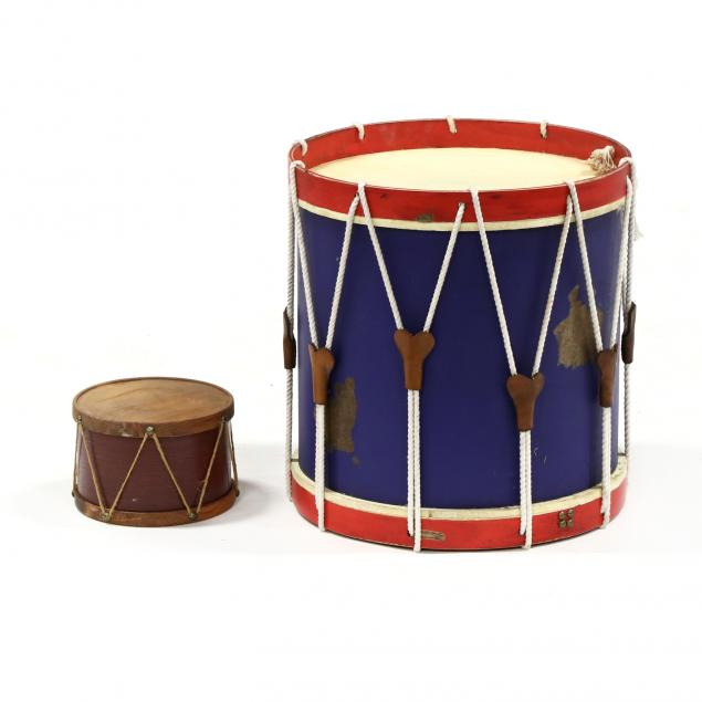 two-decorative-drums-with-faux-heads