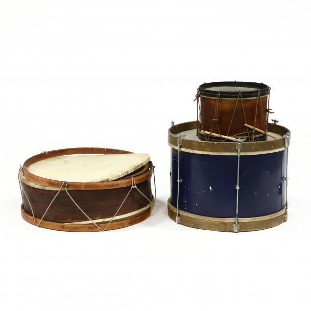 three-decorative-drums