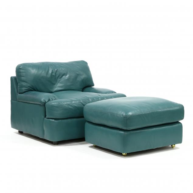 century-chair-co-modern-leather-club-chair-and-ottoman