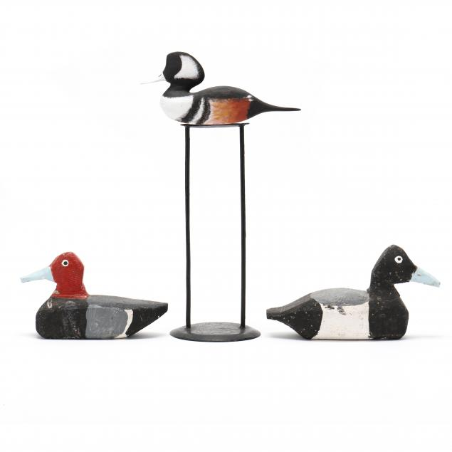 three-paint-decorated-small-decoys