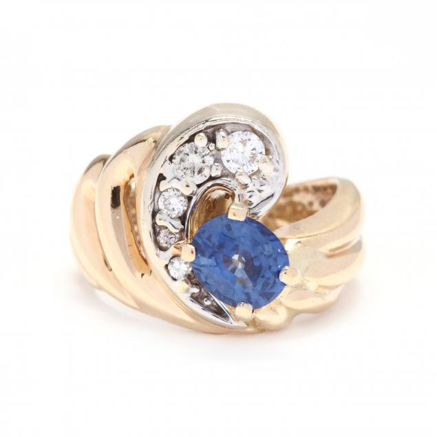 gold-sapphire-and-diamond-ring