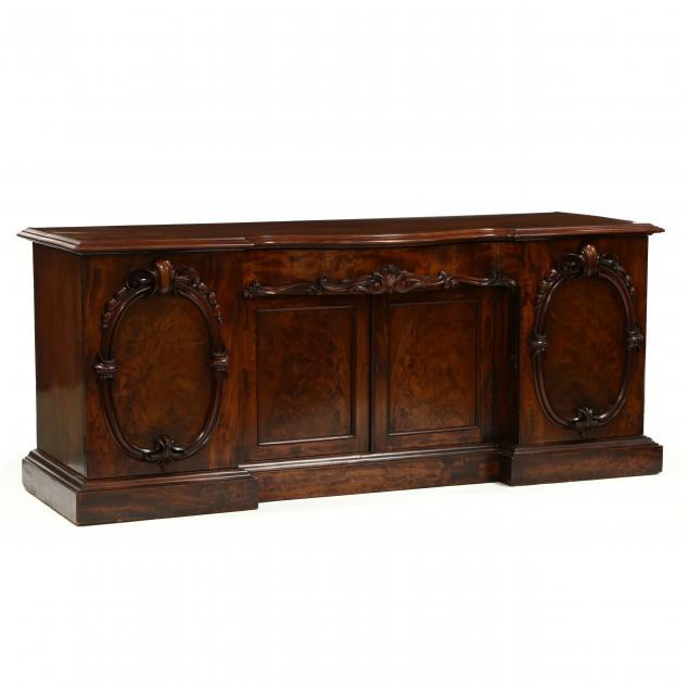william-iv-carved-mahogany-sideboard