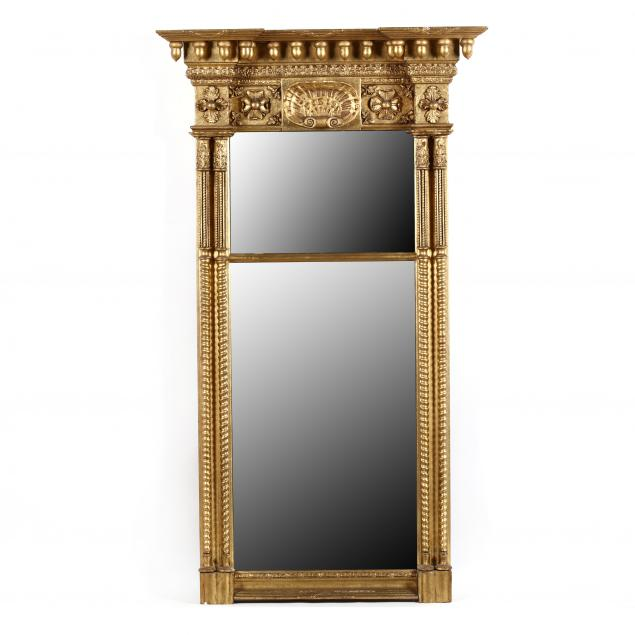 american-classical-carved-and-gilt-double-pane-mirror