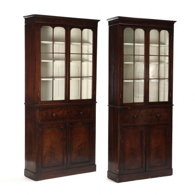 near-pair-of-antique-english-mahogany-book-presses