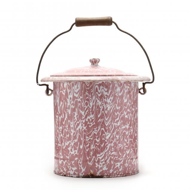 rare-french-swirl-raspberry-graniteware-pail