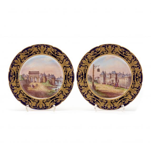 pair-of-artist-signed-sevres-porcelain-cabinet-plates