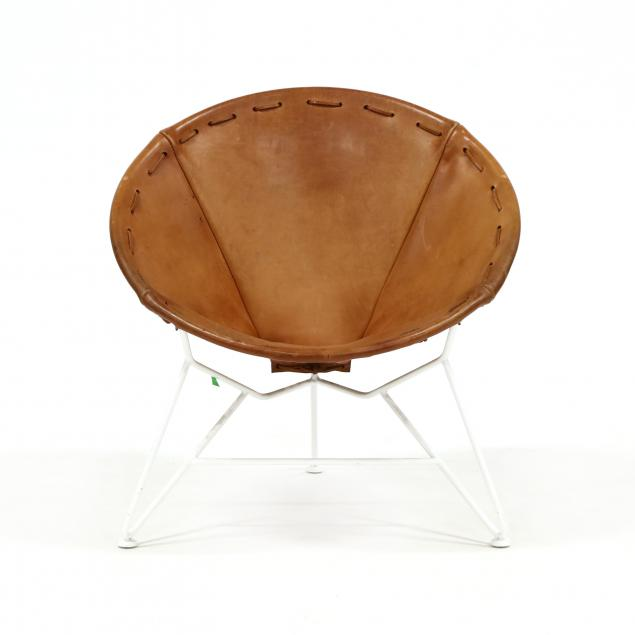 garza-marfa-tx-saddle-leather-round-chair