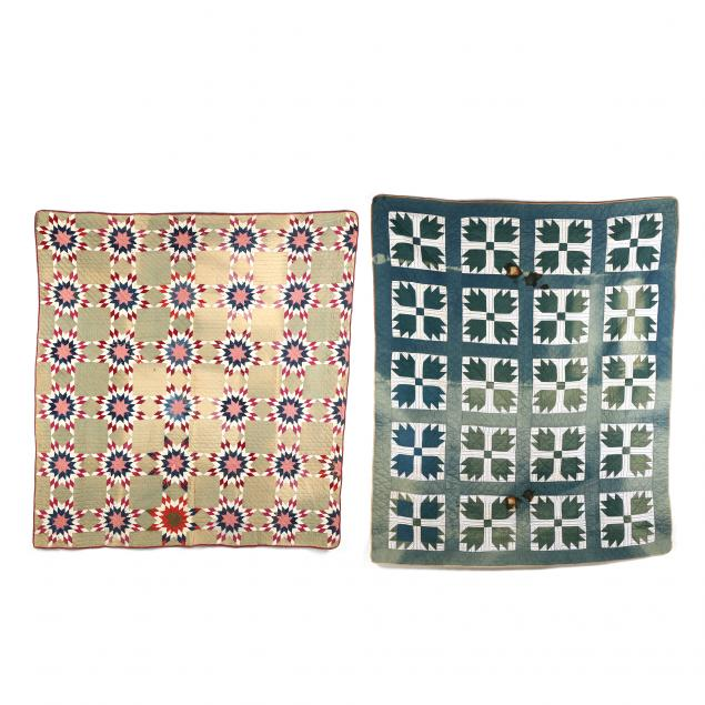 two-vintage-quilts