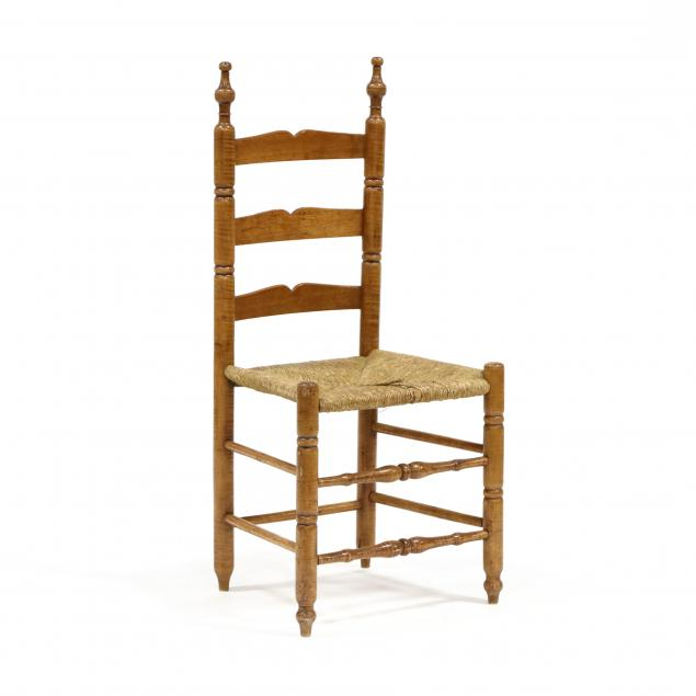 american-tiger-maple-ladderback-side-chair