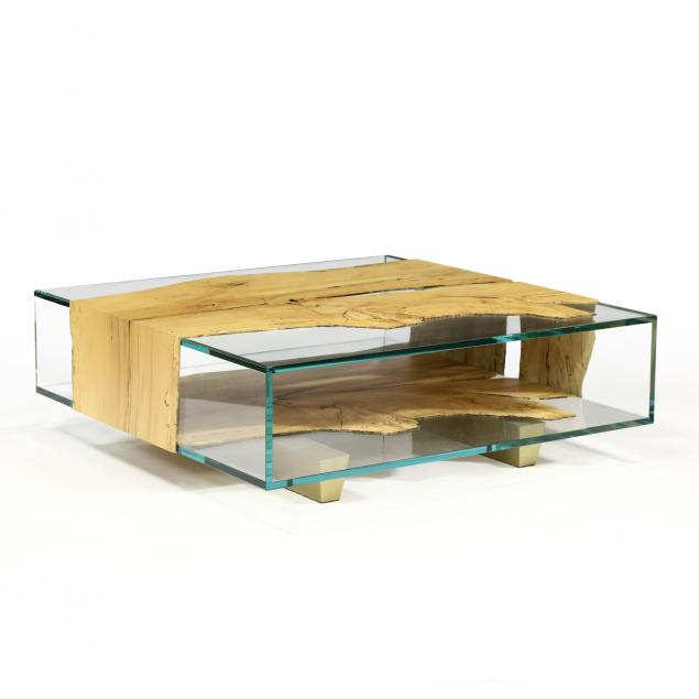 john-houshmand-ca-ny-b-1954-i-shazam-i-maple-and-glass-low-table