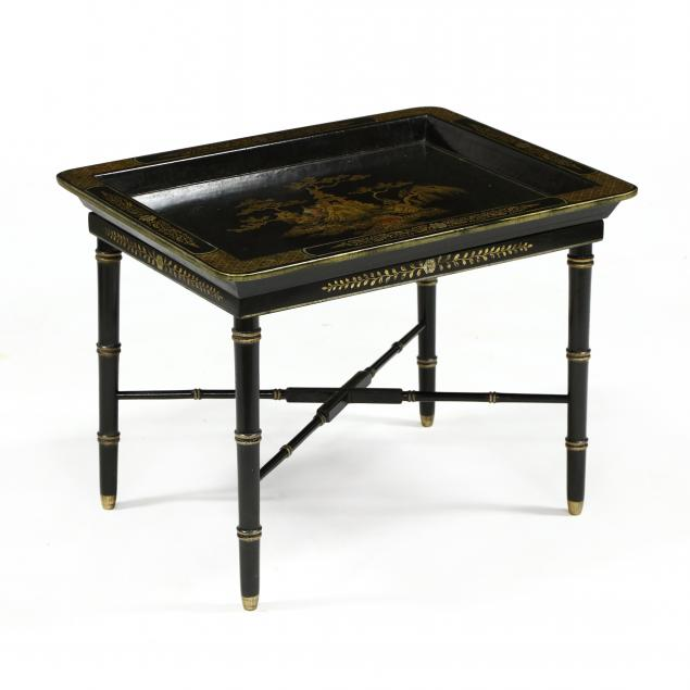 chinoiserie-decorated-tray-on-stand