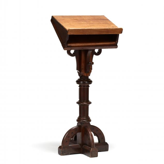 ecclesiastical-mahogany-adjustable-lectern