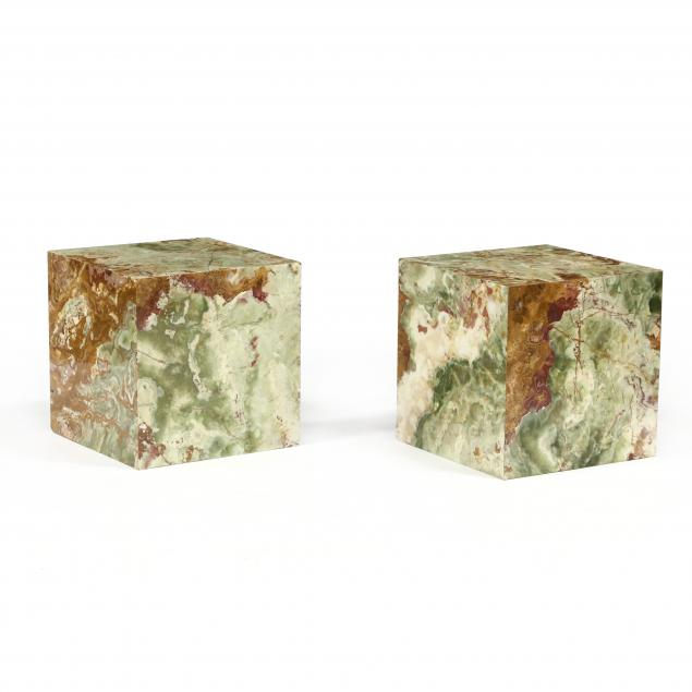 pair-of-green-onyx-cube-tables