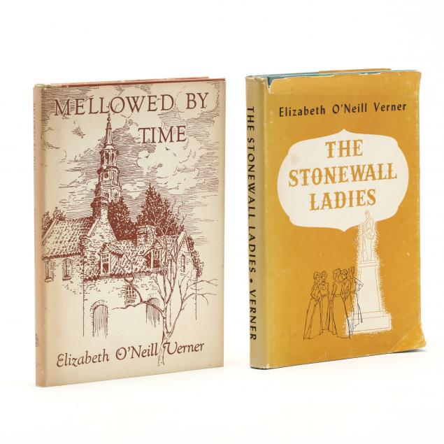 two-books-signed-by-charleston-visual-artist-elizabeth-o-neill-verner