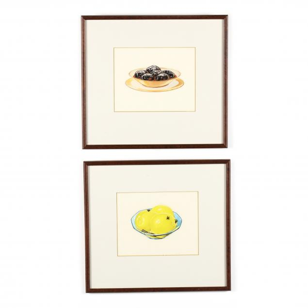 pair-of-vintage-still-life-can-label-art-watercolors