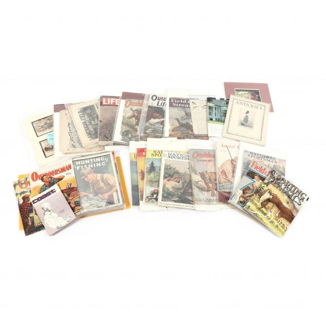 over-30-vintage-hunting-and-fishing-magazines-plus-various-printed-ephemera