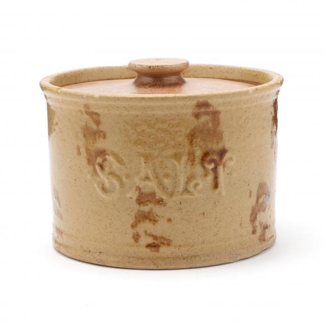 vintage-stoneware-salt-box