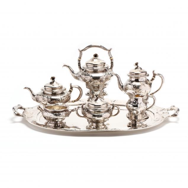 a-seven-piece-gorham-martele-silver-tea-coffee-service