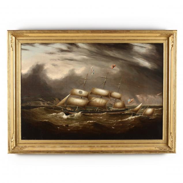 att-samuel-walters-english-1811-1882-oxford-packet-ship-navigating-turbulent-seas
