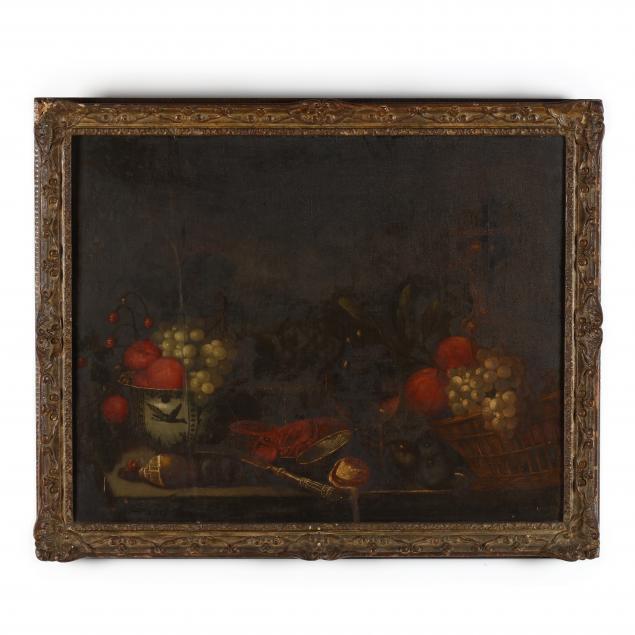 manner-of-jan-davidsz-de-heem-dutch-1606-1684-still-life-with-fruit-lobster-and-wanli-kraak-porcelain-bowl