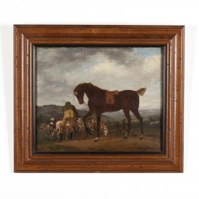 an-antique-english-school-sporting-painting