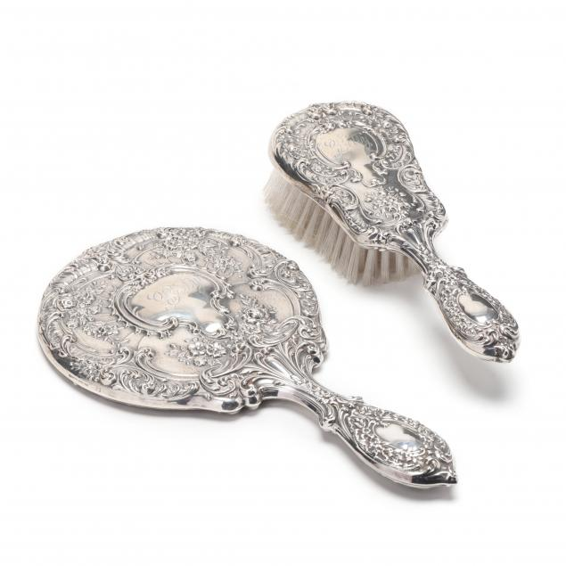 gorham-dresden-sterling-silver-two-piece-vanity-set