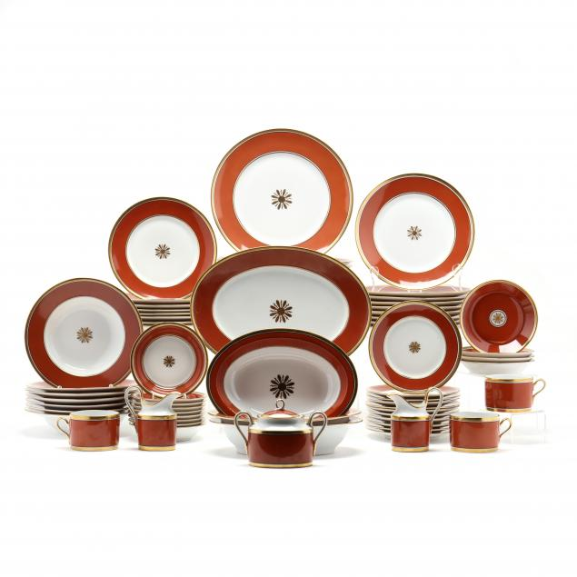 richard-ginori-dinner-service-visconte-red-66-pieces