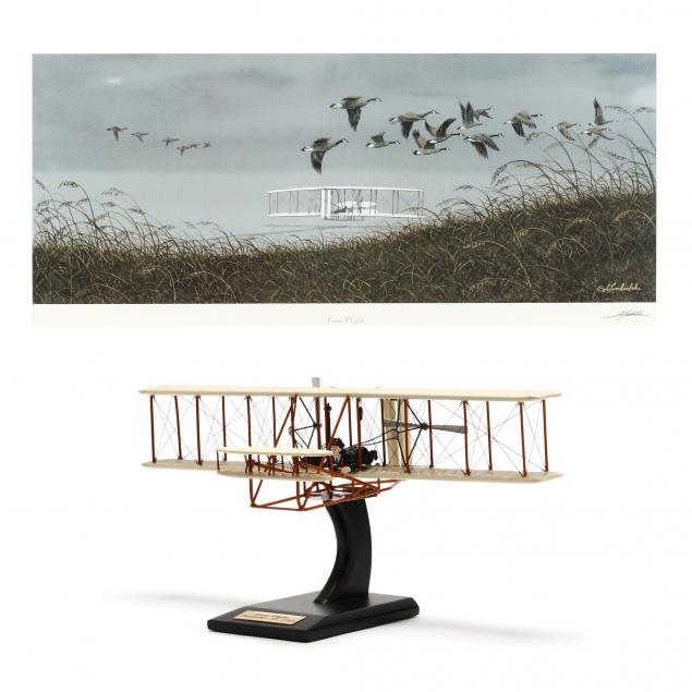 bob-timberlake-nc-born-1937-i-first-flight-i-with-model
