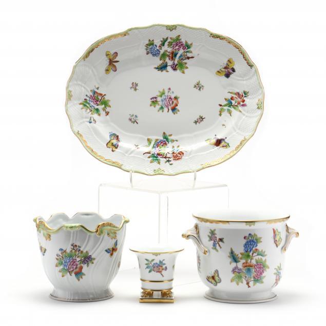 herend-queen-victoria-porcelain-group
