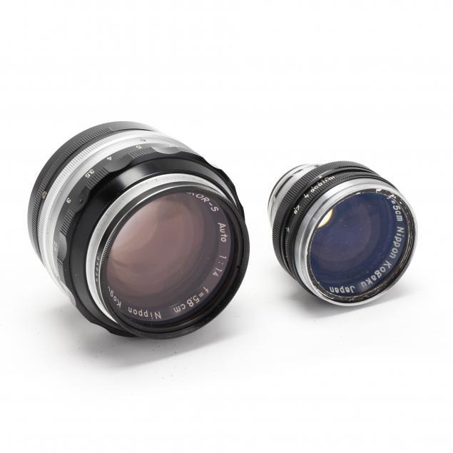 two-japanese-nikkor-lenses