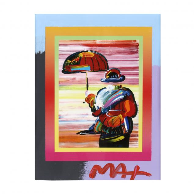 peter-max-american-b-1937-i-umbrella-man-on-blends-i