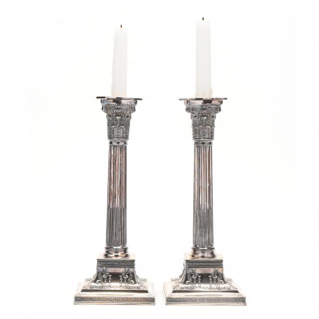a-pair-of-corinthian-column-silverplate-candlesticks