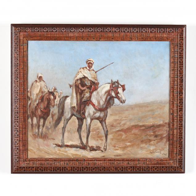 antoine-magne-french-1883-1968-arab-horsemen