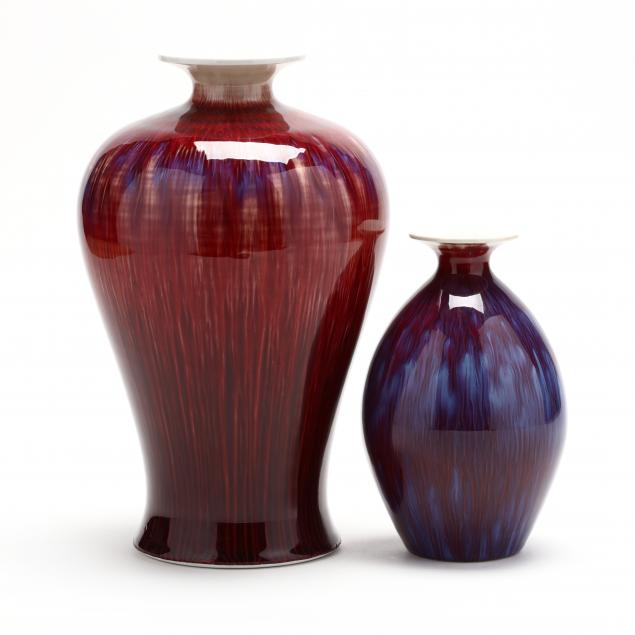 two-chinese-flambe-porcelain-vases