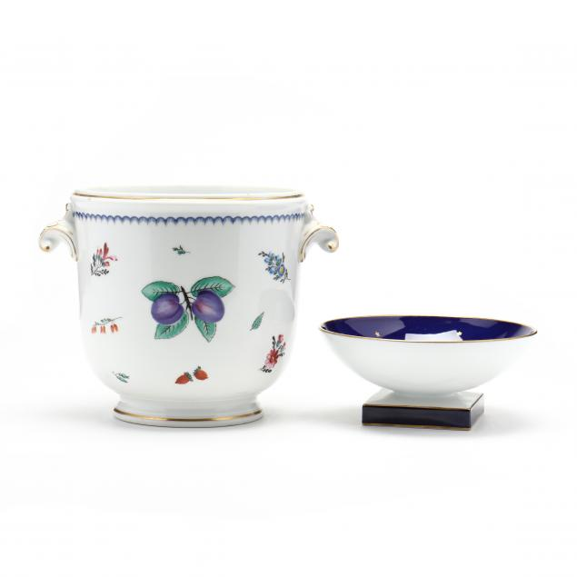 two-porcelain-items