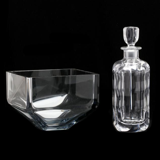 two-pieces-of-modern-orrefors-crystal