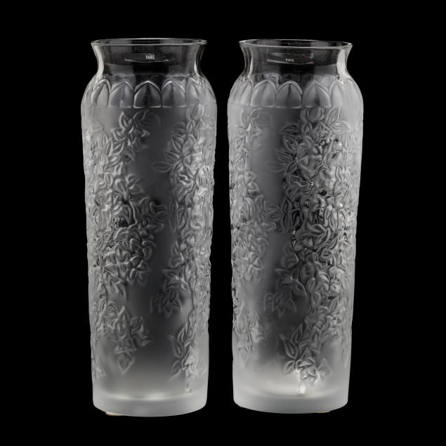 lalique-pair-of-crystal-vases