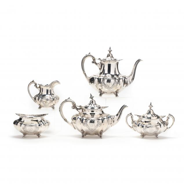 reed-barton-hampton-court-shield-sterling-silver-tea-coffee-service