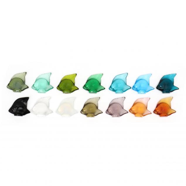 lalique-school-of-14-multi-color-crystal-fish