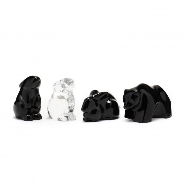 four-baccarat-crystal-animals