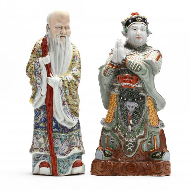 two-large-chinese-porcelain-famille-rose-figures