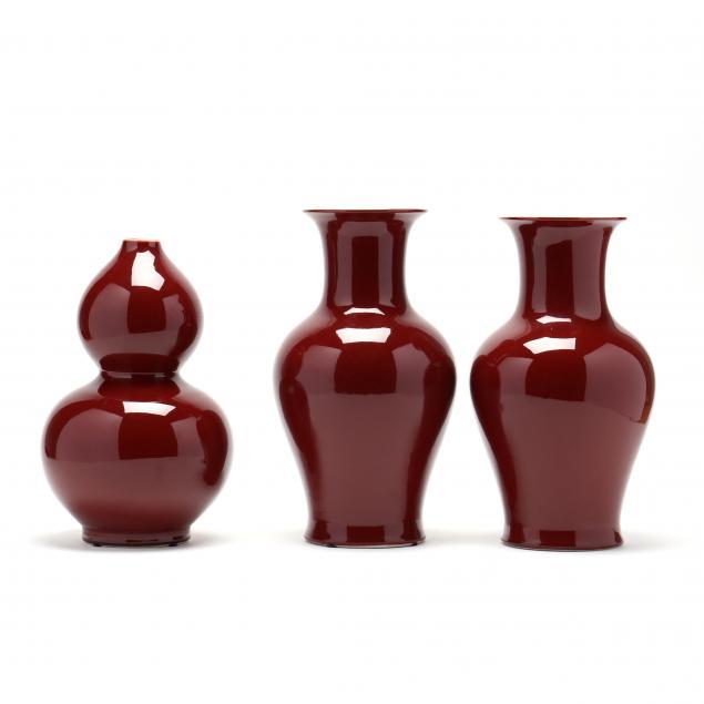 three-chinese-sang-de-boeuf-vases