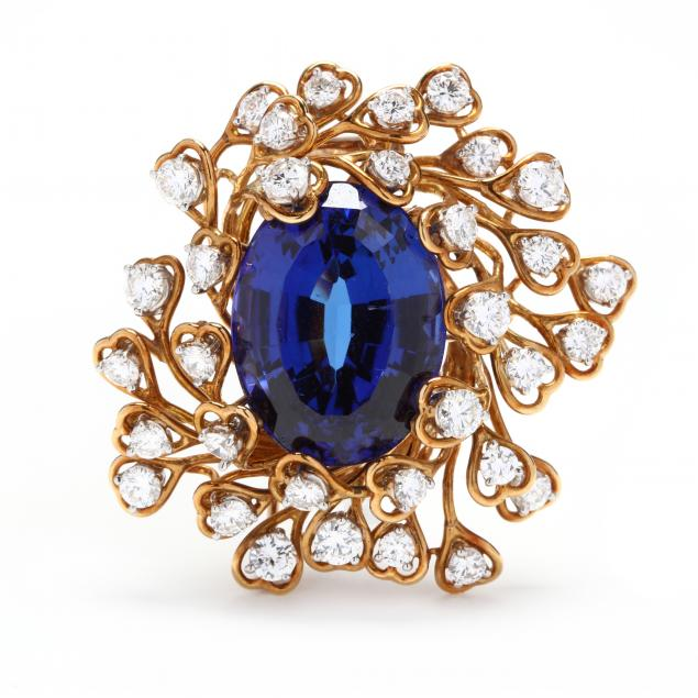 18kt-gold-tanzanite-and-diamond-brooch-tiffany-co