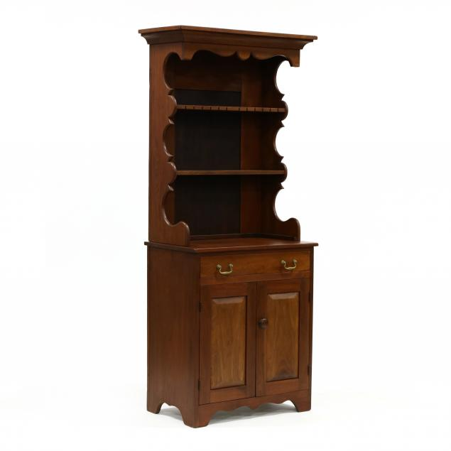 baltimore-walnut-diminutive-stepback-cupboard-signed