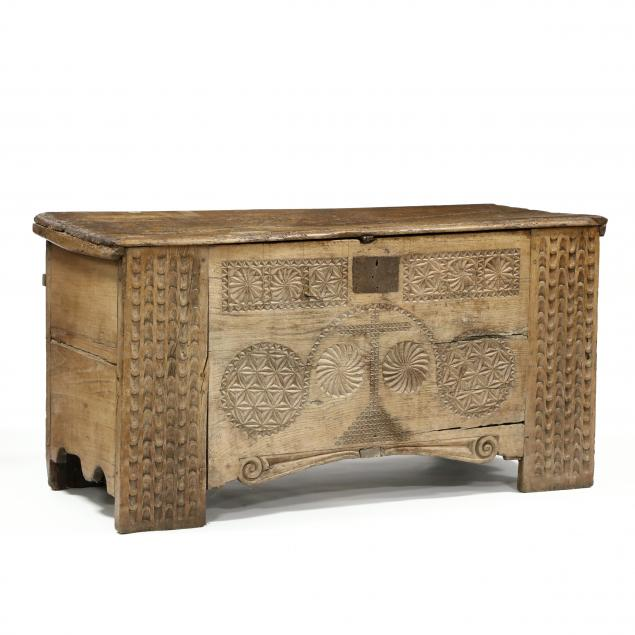 antique-spanish-carved-walnut-coffer