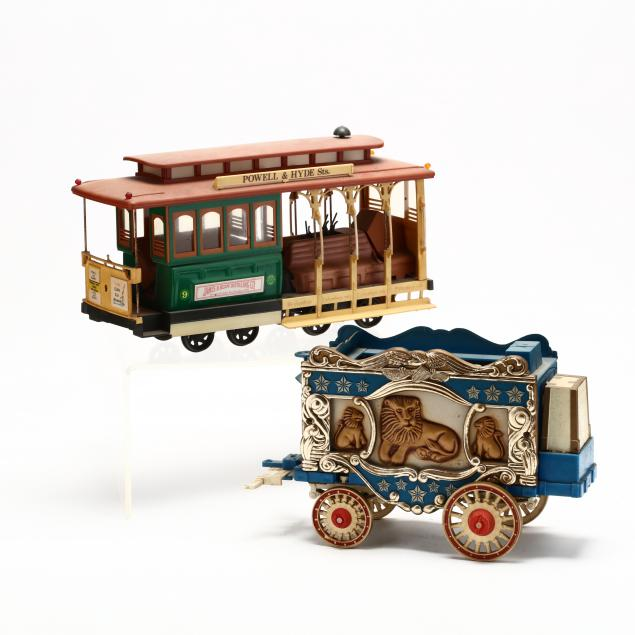 jim-beam-kentucky-straight-bourbon-whiskey-circus-wagon-san-francisco-cable-car-decanters