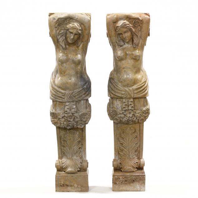 pair-of-carved-marble-caryatids