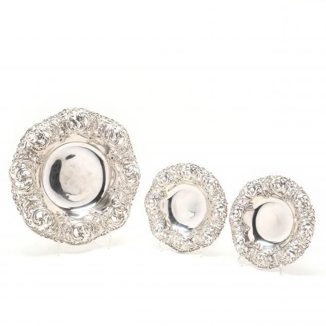 an-antique-gorham-sterling-silver-three-piece-centerpiece